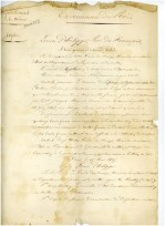 Ordonnance du roi Louis-Philippe autorisant la fabrique de l'église de Lachau à accepter le legs de Joseph Marcel (1845)