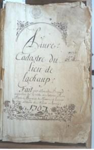 La cadastre de 1707
