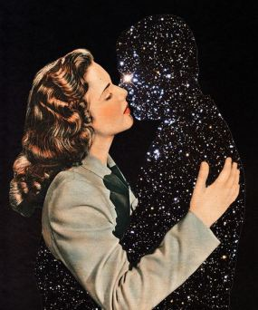 Antares & Love XI, collage, 2014.