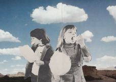 The Cloud Eaters, collage, 2013.