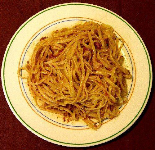 espaghetti romesco