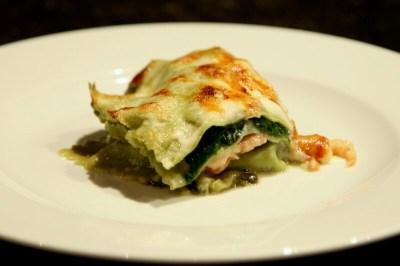 lasagne saumon épinards