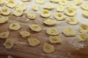 orecchiette fabrication
