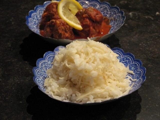 riz aux vermicelles