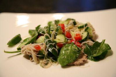 salade de vermicelles au boeuf
