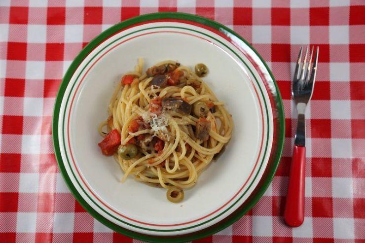 spaghetti alla siciliana