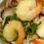 tempura de nouilles udon