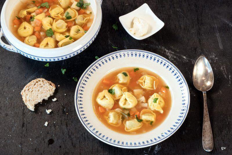 Soupe moldave aux pelmenis