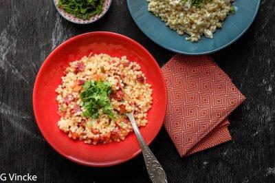 couscous à la viande de boeuf séchée