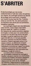 Textes et illustrations extraits de l'exposition Les oubliés de Tromelin et du site de l'INRAP