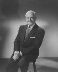 Léo Dandurand (1956). Fonds Gabriel Desmarais.