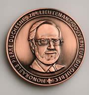 Médaille du Lieutenant-gouverneur.
