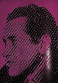 Représentation de Camilo Torres en couverture arrière de la revue OCLAE, no 38, 1970.