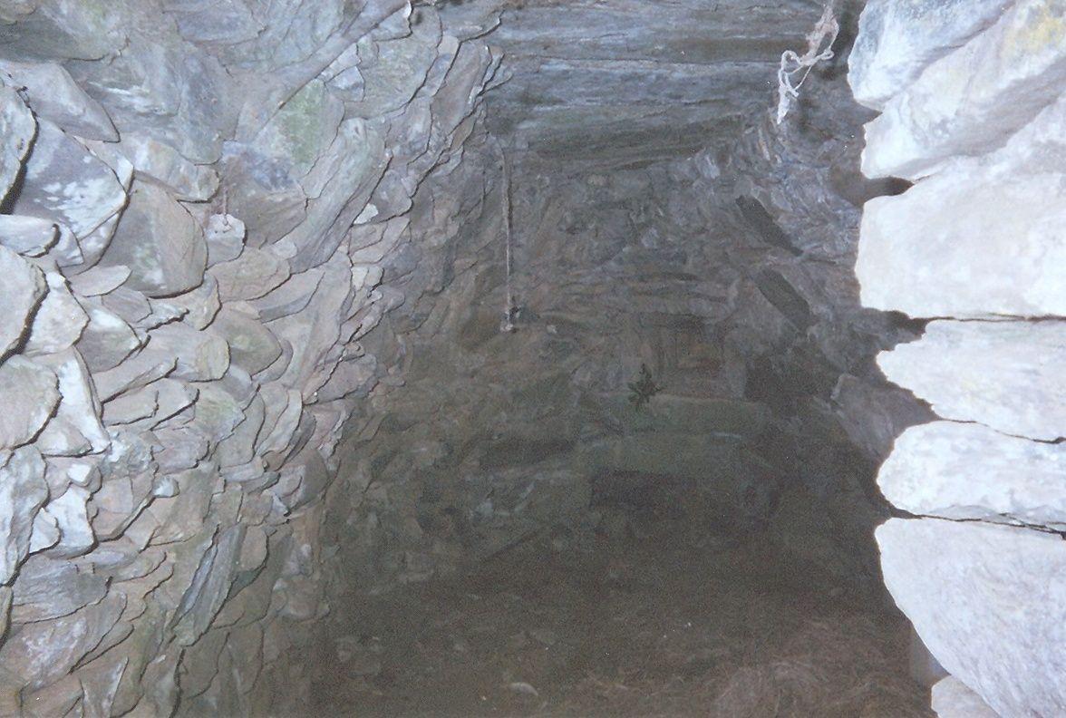Cabane Capela: Remarquez la qualité de construction de son plafond.