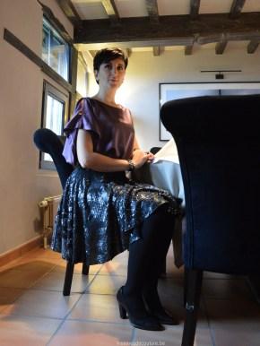 Histoires de Couture - Workshop : Een feestelijke cirkelrok met sequins