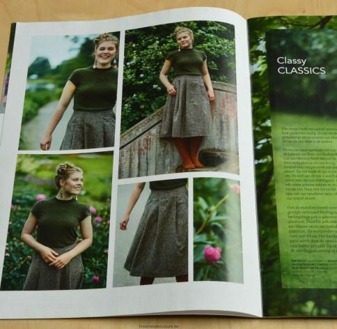Histoires de Couture - Naaitips : T-shirt in glitter jersey - Ottobre herfst/winter 2016