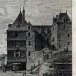 Morlaix vue de la Grande Place, par Ozanne, fin XVIIIe siècle