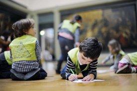 enfant musée