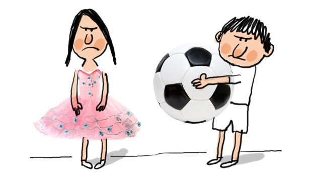 Stéréotype de genre et enfant
