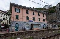 La gare Riomaggiore