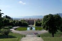 Jardins de Boboli, Palais Pitti