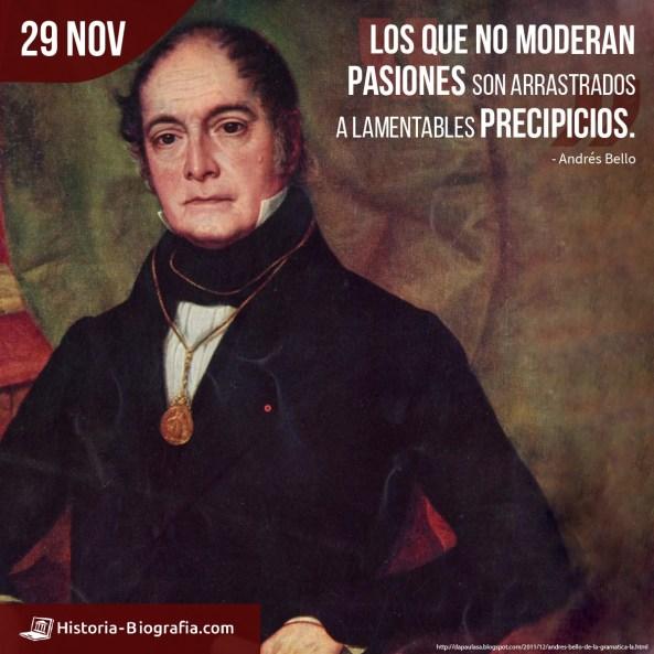 Andrés Bello frases
