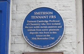 Biografía de Smithson Tennant