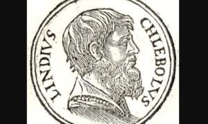 Biografía de Cleóbulo de Lindos