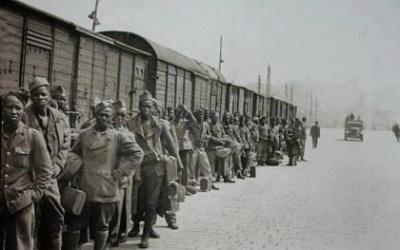 En 1944, se decretó que París sólo sería liberado por blancos