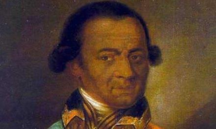 Abram Petróvich Gannibal el bisabuelo negro de Aleksandr Pushkin.