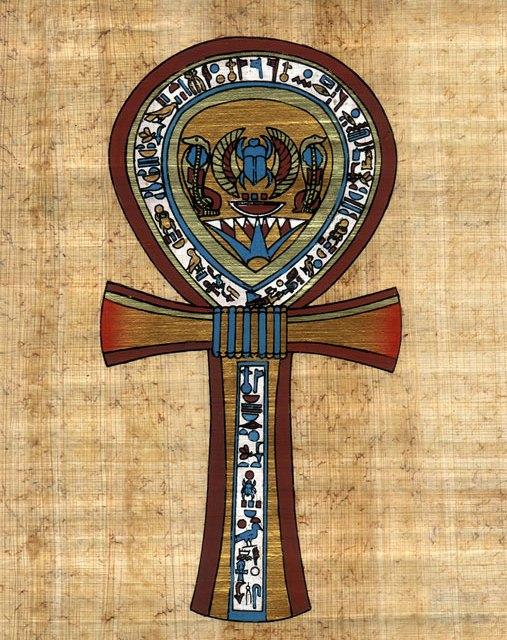 La Cruz Ankh, Simbolo de la Religion del Pueblo Negro