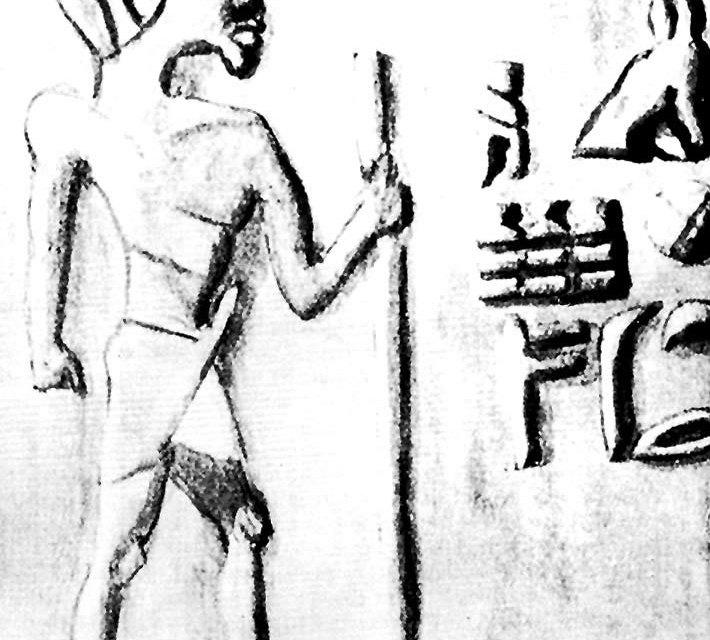 Los anus, los primeros habitantes de Egipto eran negros