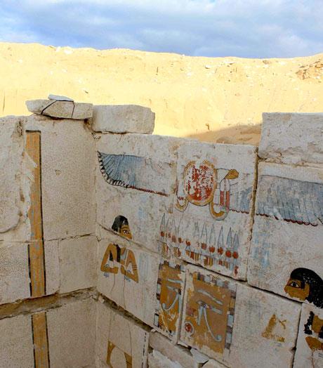 Descubren tumba de faraón egipcio que podría llegar a revelar que los hicsos no reinaron en todo el país.