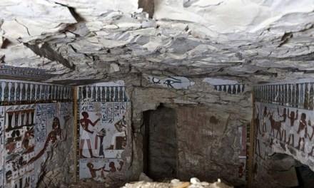 Hallada una nueva tumba faraónica en Luxor (Tebas)