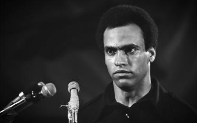 Huey P. Newton, fundador del Partido Pantera Negra
