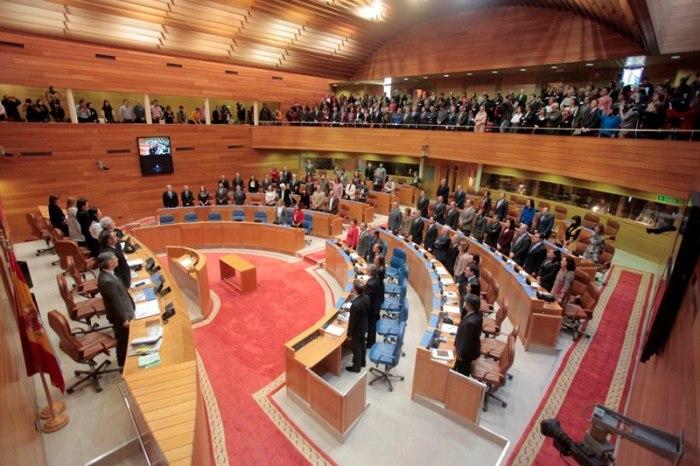Unha das Ssesións constitutivas do Parlamento de Galicia / Parlamento de Galicia