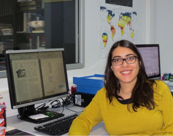 Noemí Silva, investigadora da USC autora da tese 'A reconstrución de ambientes Holocenos a partir de turberas: combinando xeoquímica e palinoloxía' / USC