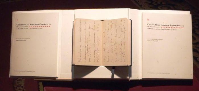 Con el alba. El Cuaderno de Francia (1916). Manuscrito inédito de Ramón del Valle-Inclán, presentado na USC / USC