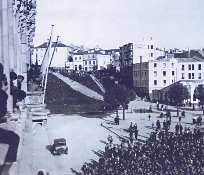 Declaración da República na Coruña