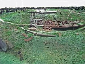 Castro de San Cibran de Las, que alberga o Parque Arqueolóxico da Cultura Castrexa / panoramio.com