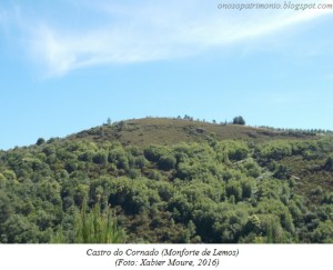 Castro de Cornade, en Monforte / Xabier Moure