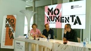 Presentación do ciclo Monumenta por parte do director xeral de Cultura, Anxo Lorenzo / xunta.gal