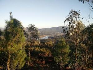 Vistas do río Ulla desde o castro de Bexo / XS