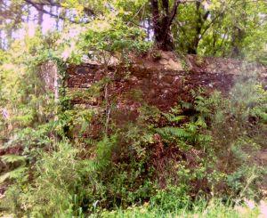 Situación actual do cemiterio civil de Corcoesto