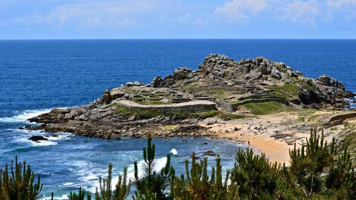 Castro de Baroña / concello de Porto do Son