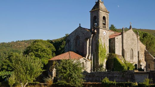 Igrexa do Mosteiro de Santa María de Melón / Galipedia