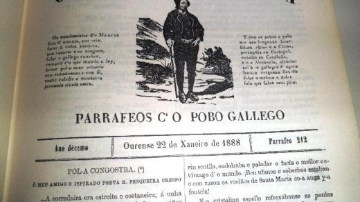 Portada de O Tío Marcos d'A Portela | Día dos Medios en Galego