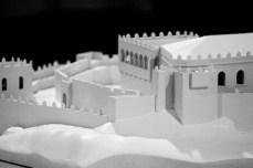 Castelo de Soutomaior, maqueta / foto Historia de Galicia