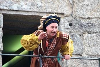 O meiriño do castelo, segundo Os Quinquilláns / foto HdG