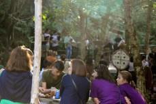 Festa no bosque que antecede ó castro no Castro Animado / foto HdG